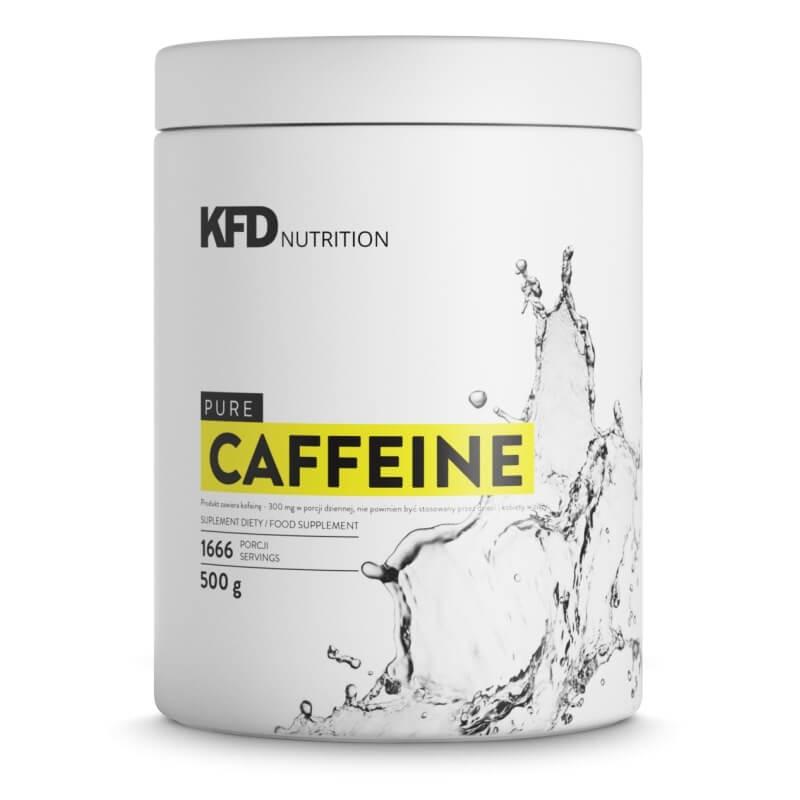 Pura Cafeína em Pó - Embalagem de 500g (1666 doses Individuais)