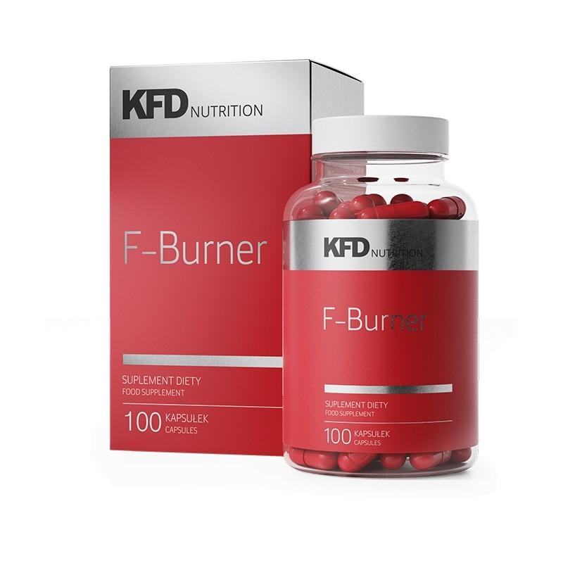 Termogénico F-Burner com 100 Comprimidos - Efeito Diurético