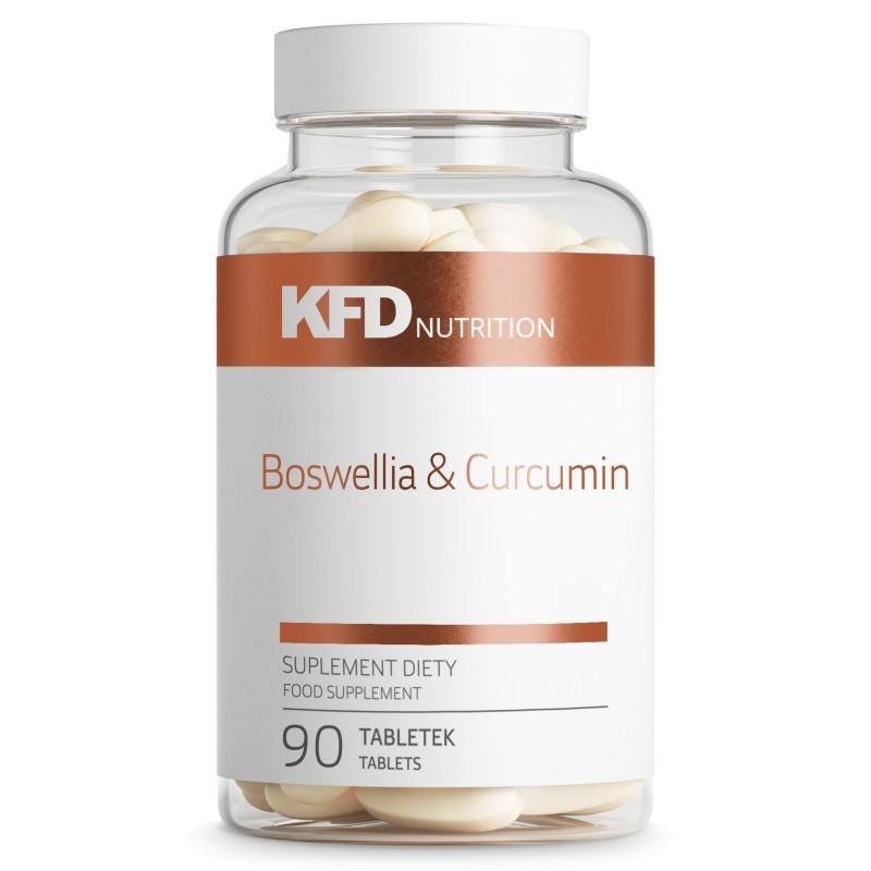 Boswellia & Curcumin com 90 comprimidos