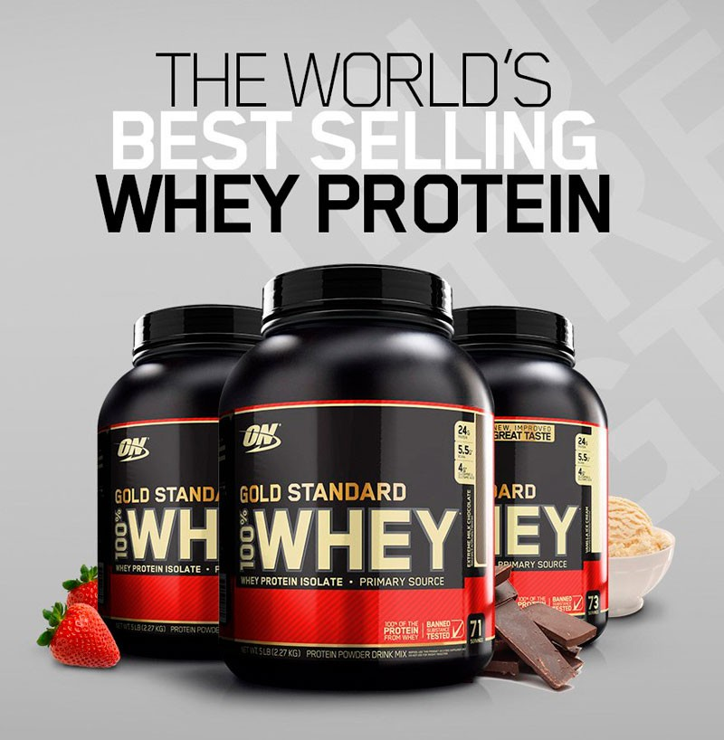Proteina Whey Gold Standard da Optimum Nutrition