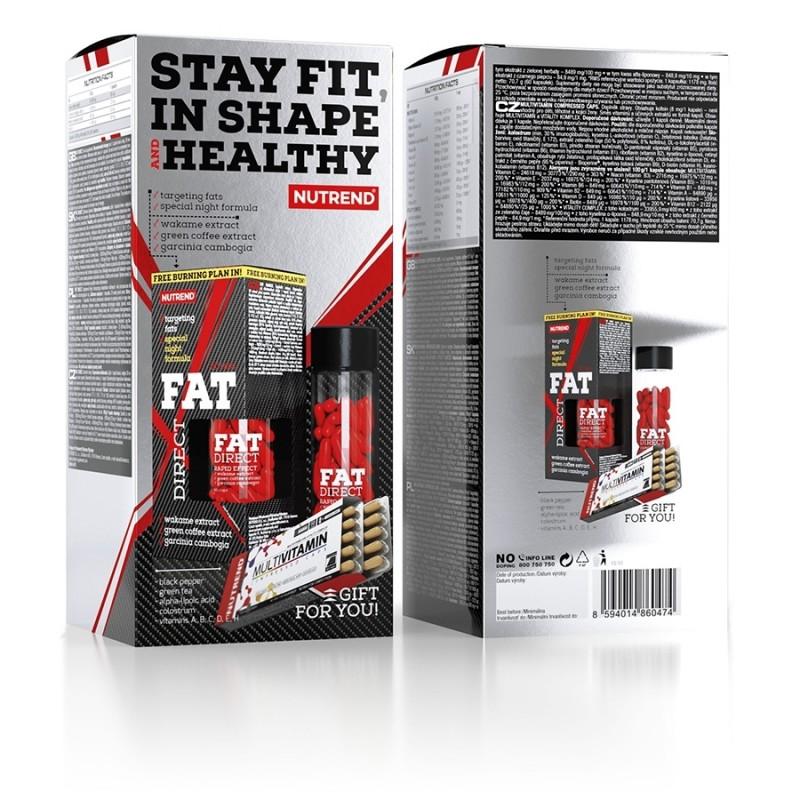 Pack Fat Direc Noite mais Multivitaminico para 60 Dias - Aproveita Já