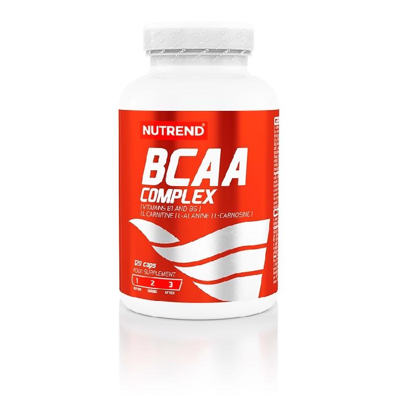 BCAA Complex 120caps - Poderoso Inibidor de Fadiga