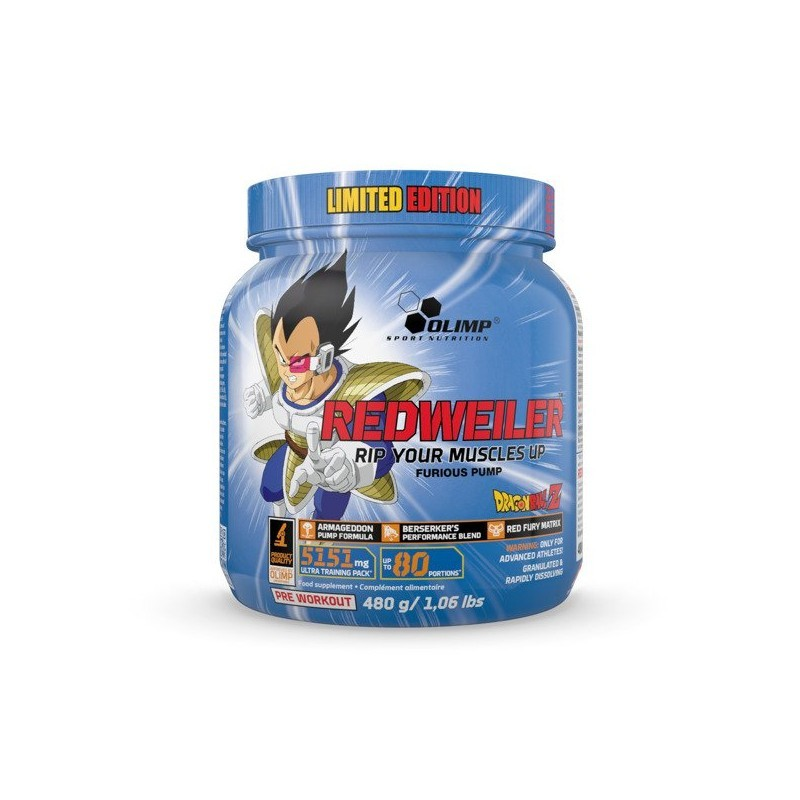 Redweiler Dragon Ball 480g