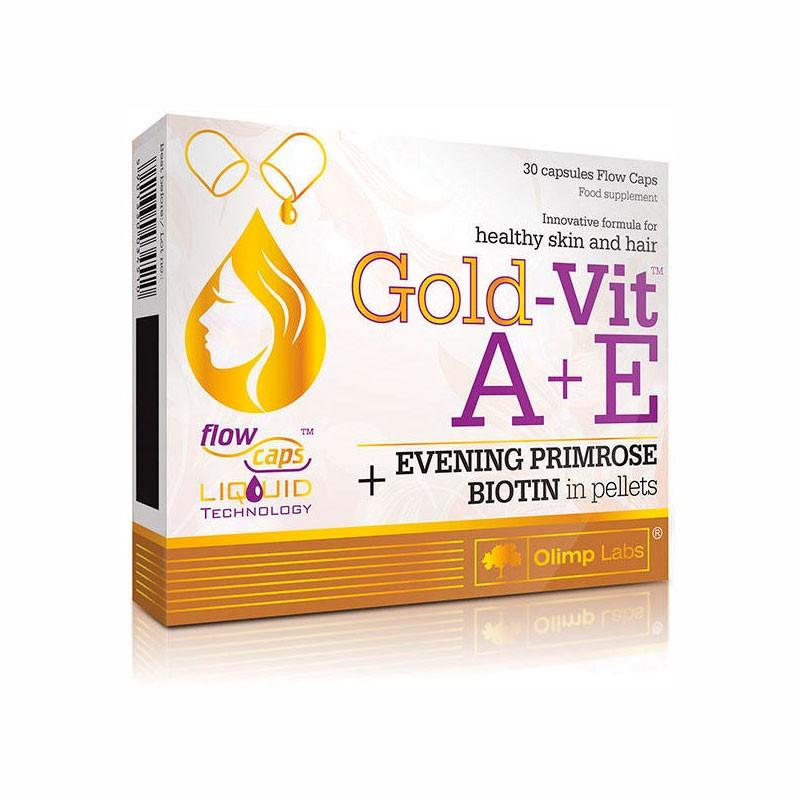 Gold Vit A + E 30caps