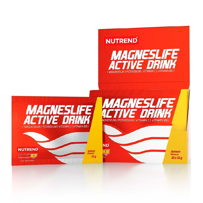 Magneslife Active Drink Limão com 10x15g