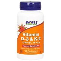 Vitamina D3 com K2 - 120vcaps