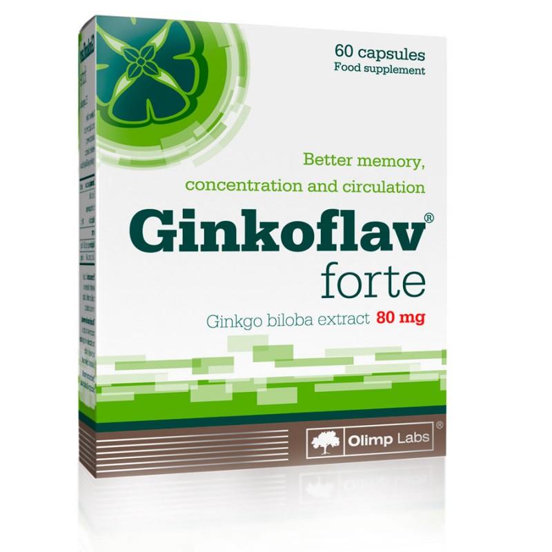 Planta Natural Ginko Biloba em Cápsulas