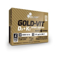 Gold Vit D3 K2 - 60caps
