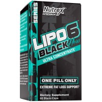 Lipo 6 Black Concentrado Mulher - 60caps