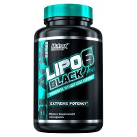 Lipo 6 Black Mulher - 120caps