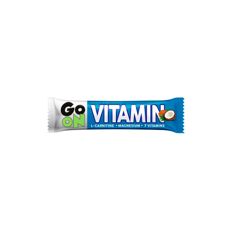 Barra Go On Vitaminas sabor Coconut