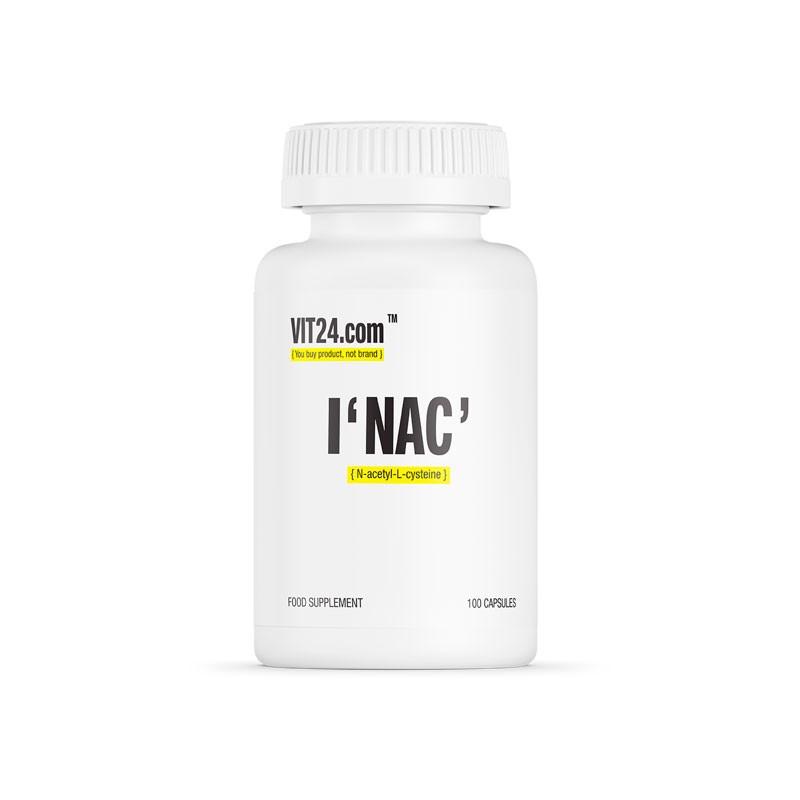 NAC 100 caps da Vit24.com