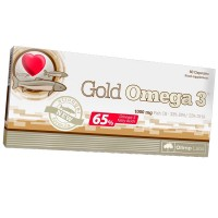 Gold Omega 3 - 60 drageias
