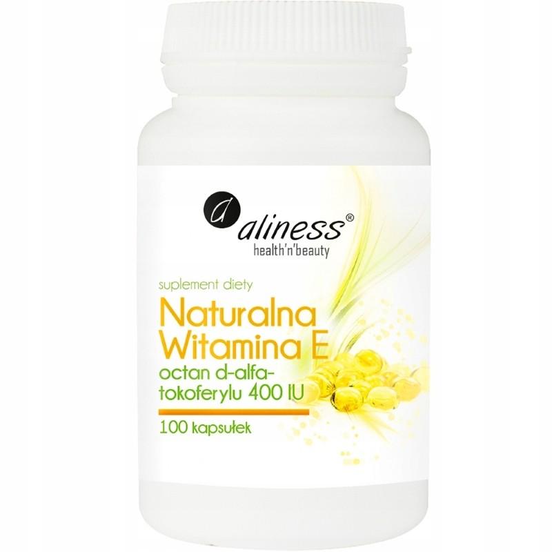 Vitamina E natural Aliness