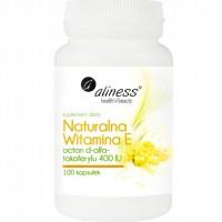 Vitamina E Natural - 100 drageias