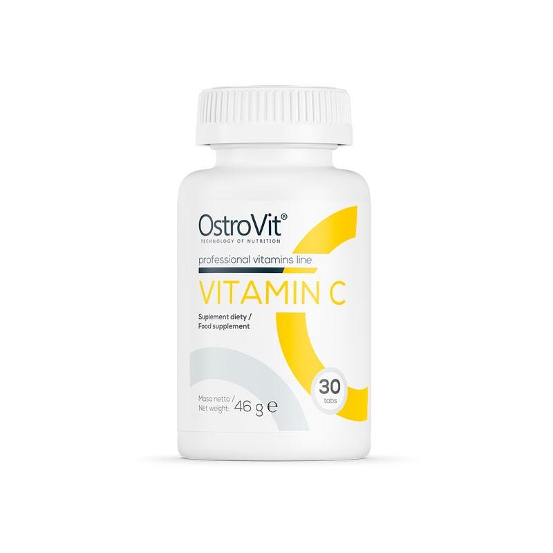 Vitamina C em comprimidos da Ostrovit