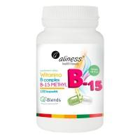 Vitaminas Complexo B15 - 100vcaps