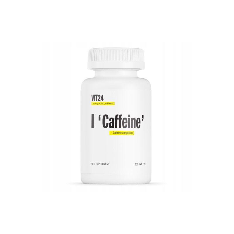 Cafeina 200 doses da Vit24