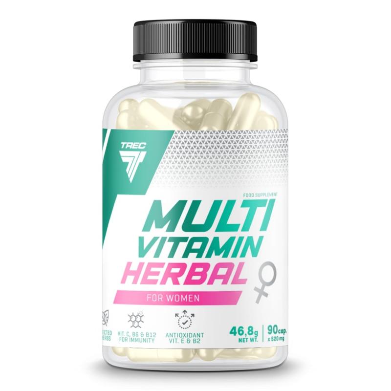 Multivitaminico Herbal para Mulher da Trec Nutrition