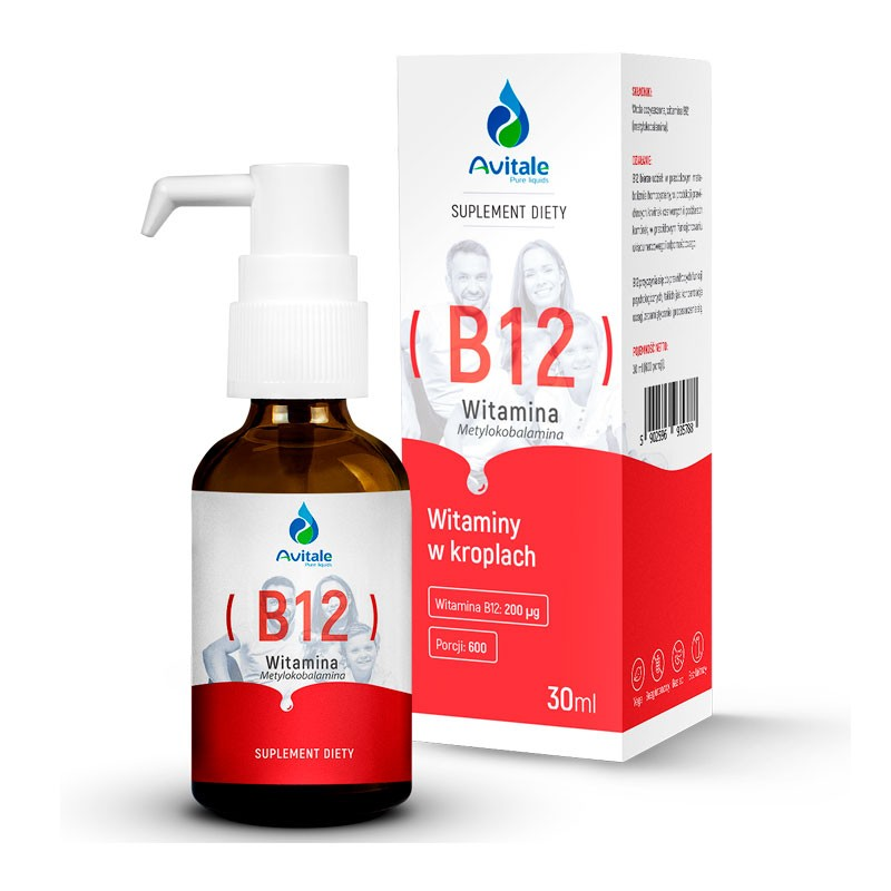 Vitamina B12 sublingual 30ml da Aliness