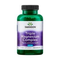 Triplo Magnésio - 100caps