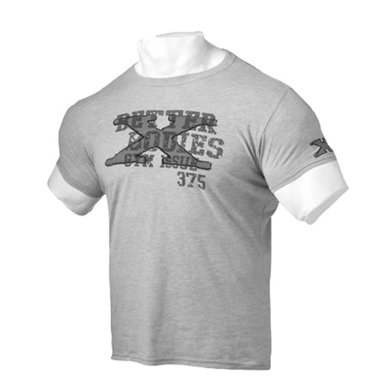 T-Shirt Cinza X