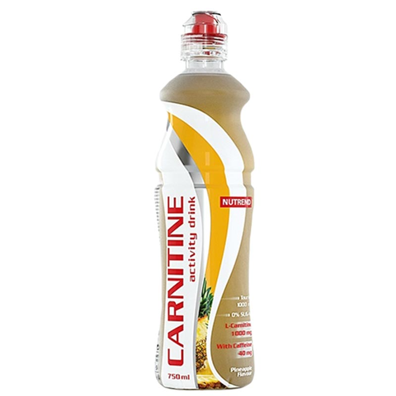 Bebida com Carnitina e Cafeína