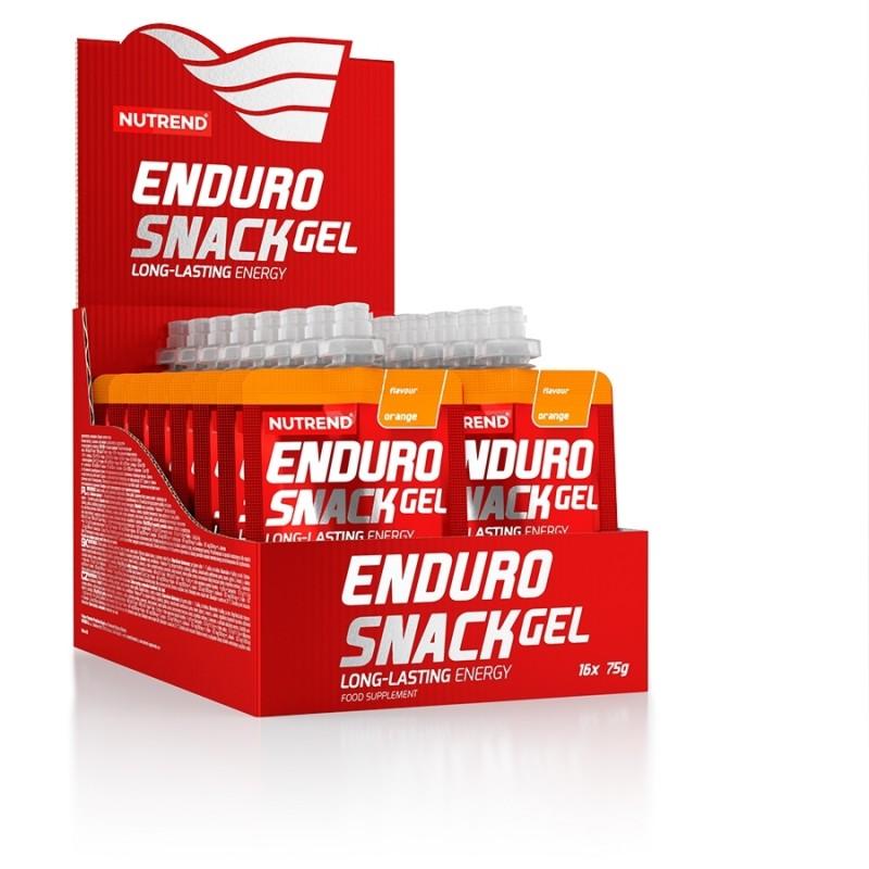 Caixa Expositor dos Géis Enduro Snack 16x75g em Saquetas