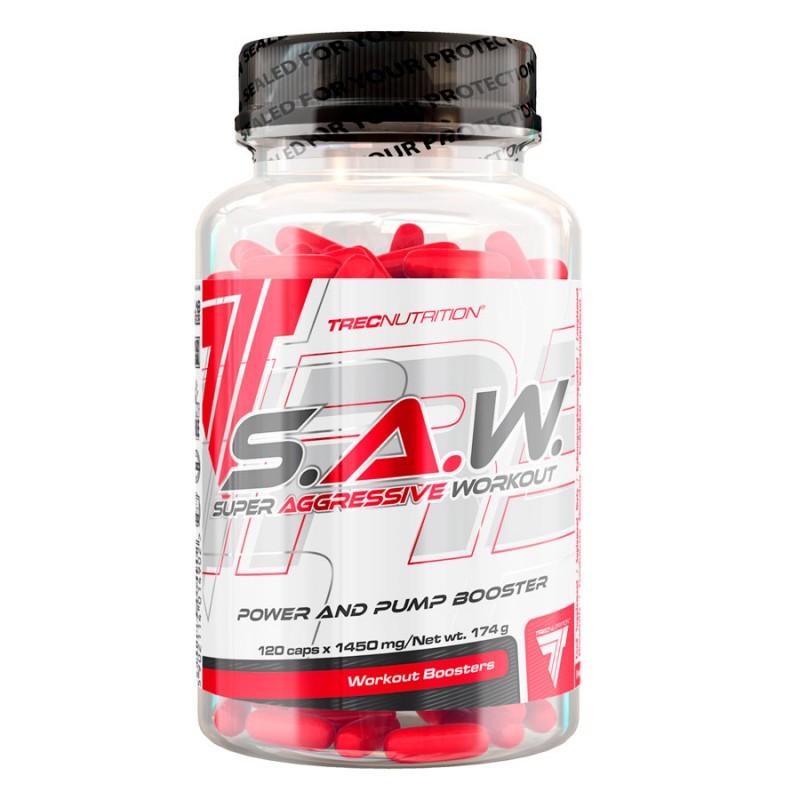 Nova Embalagem do Top Vendas SAW 120 caps