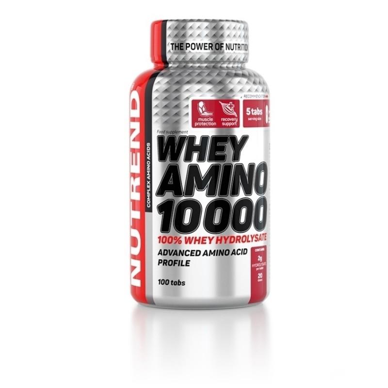 Whey Amino 10 000 com 100 Comprimidos