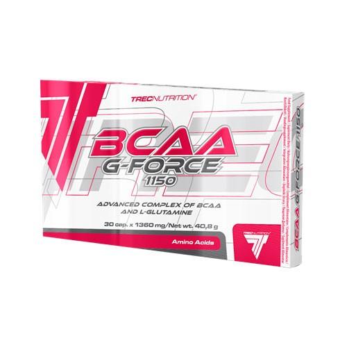 Caixa com 1 Lamela do BCAA topo de Gama da Trec Nutritio - BCAA G-Force